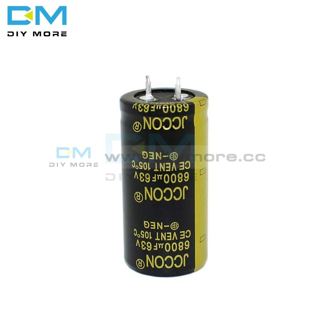 63V 6800Uf 25X50Mm 25X50 Aluminum Electrolytic Capacitor High Frequency Low Impedance Through Hole