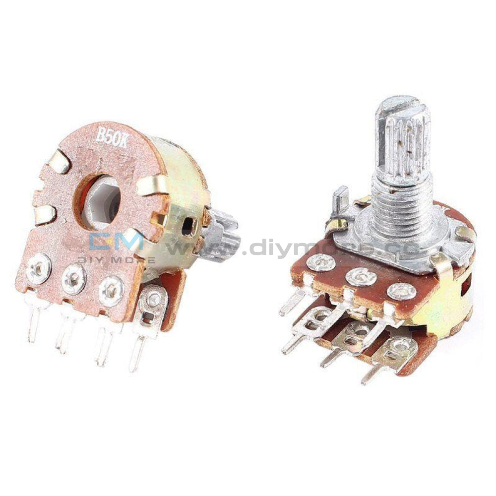 Wh148 Potentiometer B500K 15Mm 3Pin/ 6Pin Tools