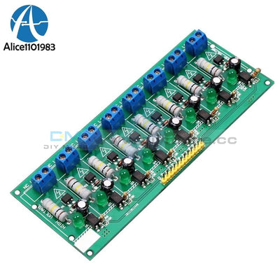 8 Ch Channel Ac 220V 3V 5V Optocoupler Isolation Test Board Isolated Detection Tester Plc Processors