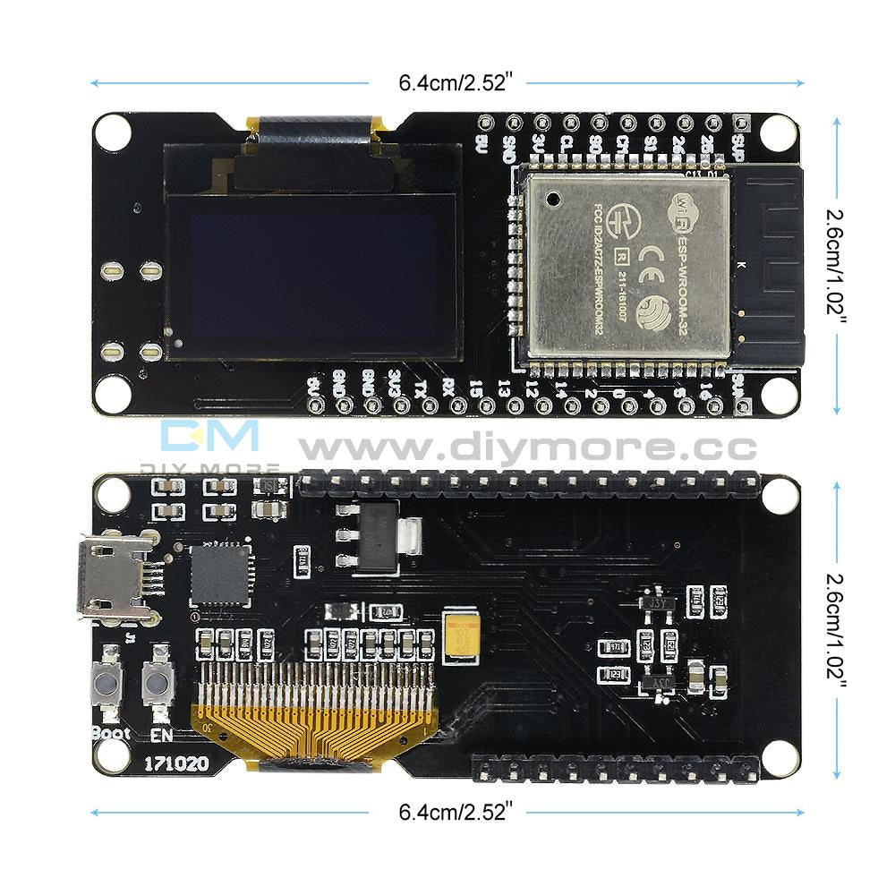 Esp-Wroom-32 Esp32 Oled Development Board 0.96 Display Wifi Bluetooth Dual Module For Arduino Wifi