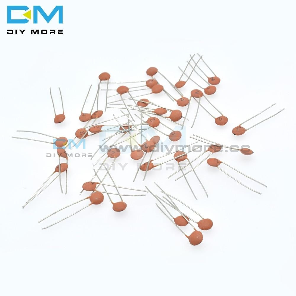 960Pcs 24Value*40Pcs Ceramic Capacitor Assortment Kit 2Pf 0.1Uf 50V Low Esr High Frequency Diy