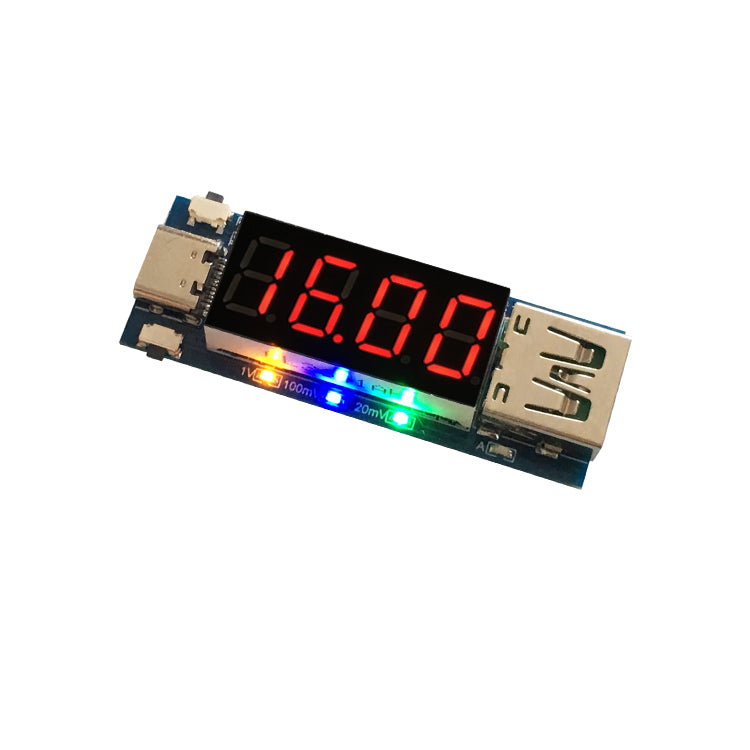 Type-C PD Quick Charge Trigger Module DC Digital Display Voltage Current Meter