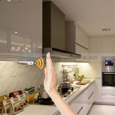 Dc 12V/24V Ir Hand Wave Sensor Switch 5A Sweep 10Cm Sense Distance For Kitchen Bedroom Cabinet