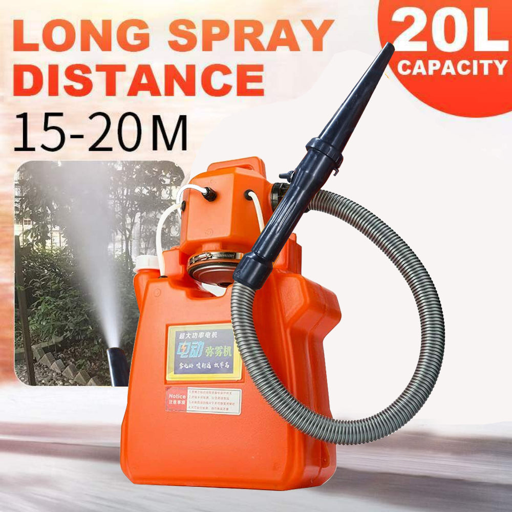 220V 20L Electric ULV Fogger Sprayer Fogging Machine Mosquito Killer Farming