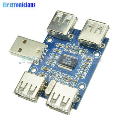 Dc 5V Usb Hub Usb2.0 Hub Concentrator 4 Female Expansion Board Module Four Interface Gps/gprs