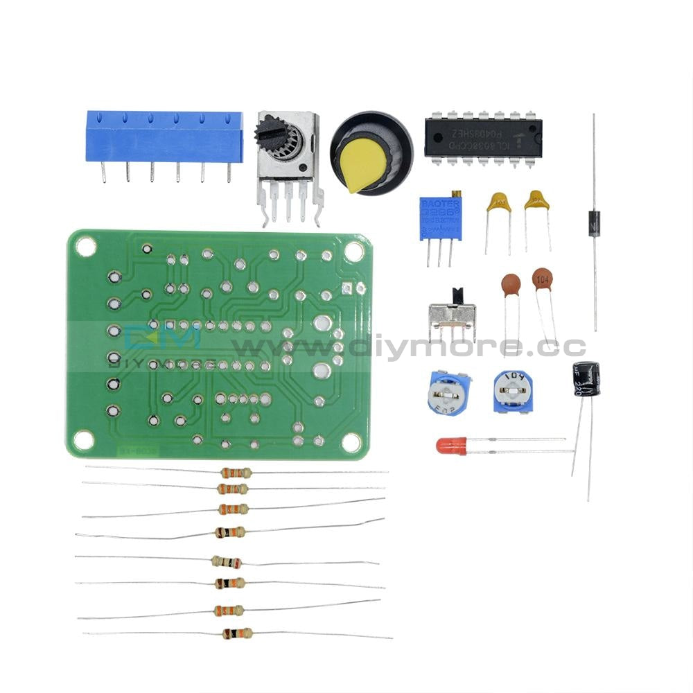 Icl8038 Monolithic Function Signal Generator Module Diy Kit Sine Square Triangle Funny