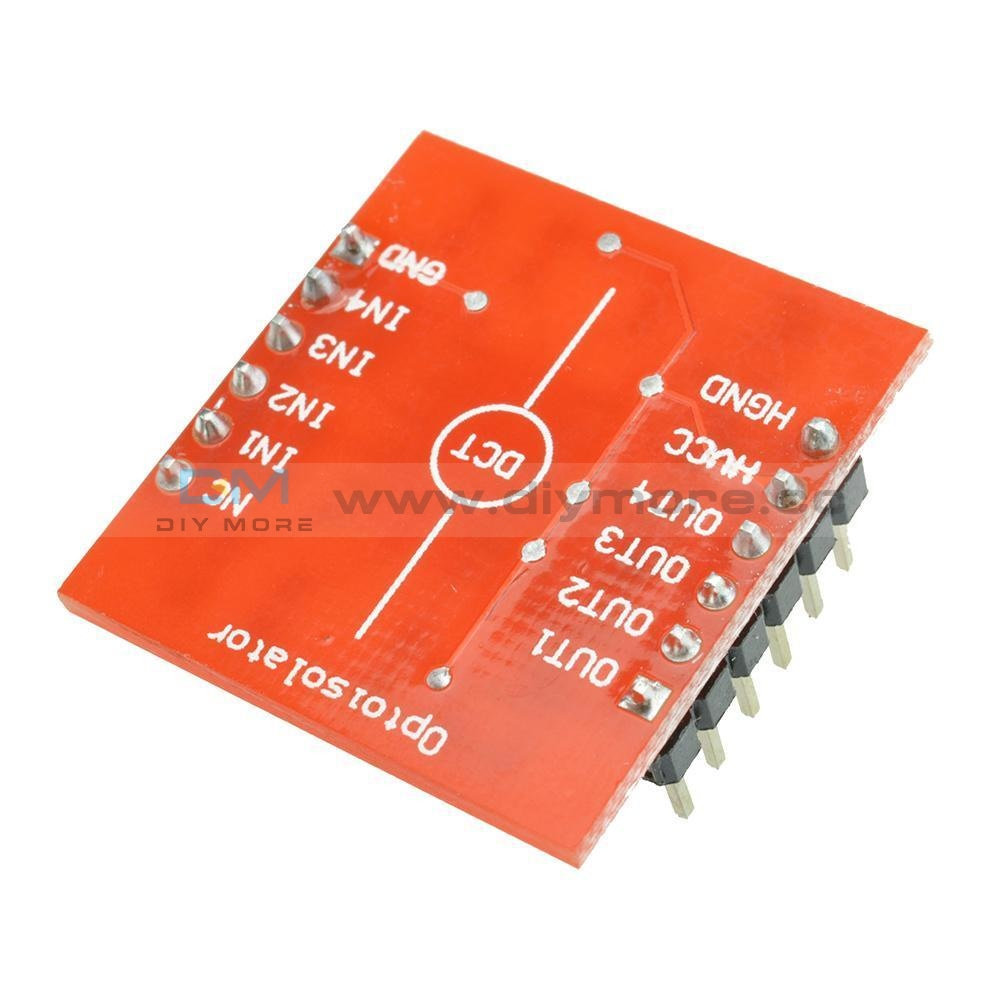 4-Channel Opto-Isolator Ic Module Arduino High And Low Level Expansion Board Optoisolator