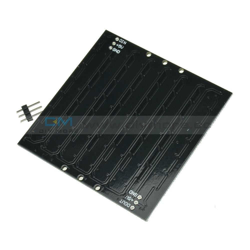 Ws2812 8X8 64 Led Matrix 5050 Rgb Full-Color Driver Black Board For Arduino Funny Diy