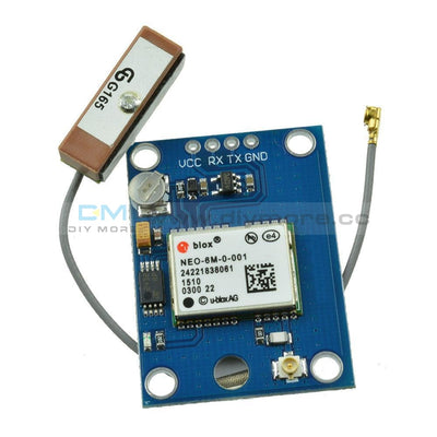 Ublox Neo-6M Gps Module With Antenna Flight Controller For Arduino Mwc Imu Apm2 Adapter