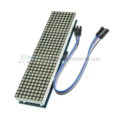 Max7219 Microcontroller 4 In 1 Display With 5P Line Dot Matrix Module Arduino Led
