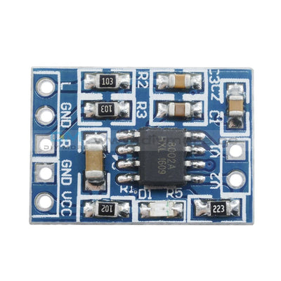 Hxj8002 Power Amplifier Board Mini Audio Voice Module Replace Pam8403