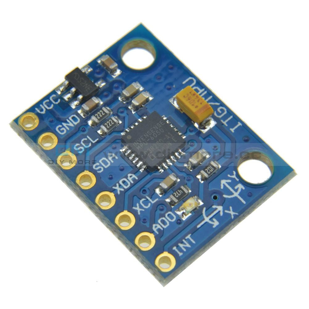 Gy521 Mpu-6050 Module 3 Axis Gyroscope+Accelerometer For Arduino Mpu 6050 Function