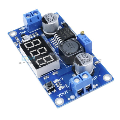 Lm2596 Adjustable Step Down Board Power Converter Digital Module