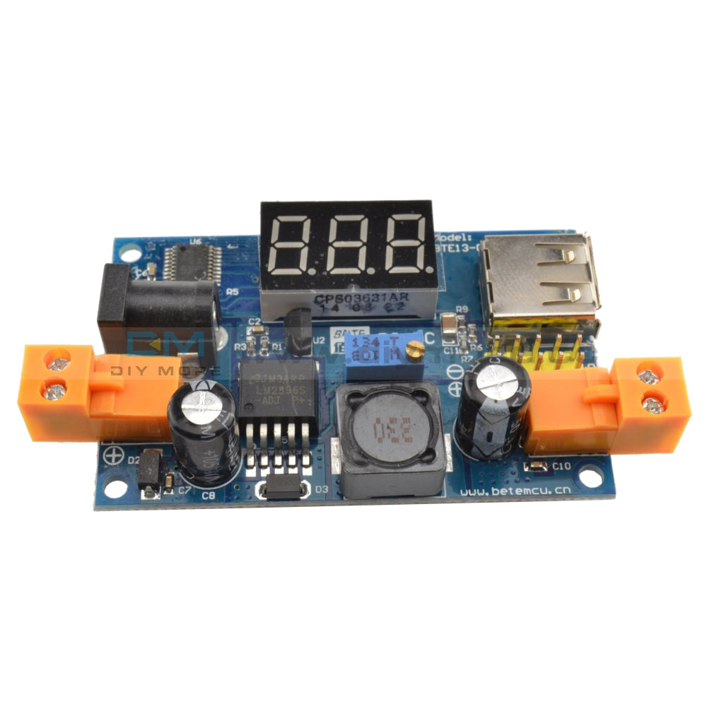 Lm2596 Dc-Dc Buck Converter Step-Down Power Module+Led Voltmeter Output 1.25-37V Step Down Module