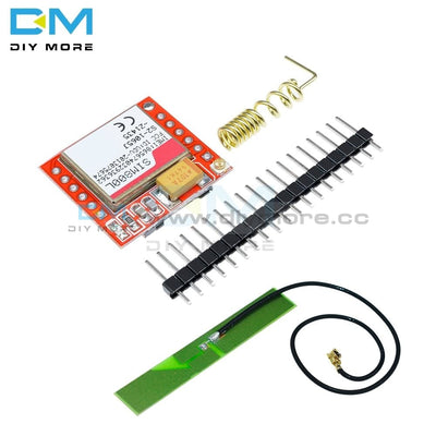 Diy Electronic Kit Smallest Sim800L Gprs Gsm Module Microsim Card Core Board Quad Band Ttl Serial