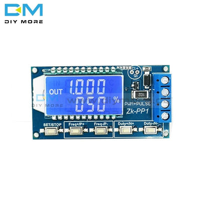 Dual Mode Pwm Pulse Square Wave Rectangular Signal Adjustable Generator Control Module Dc Stepper