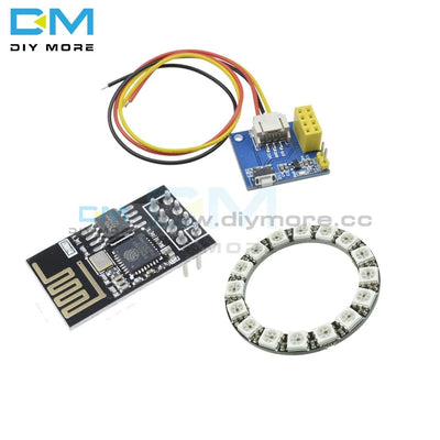 Esp 01 01S Esp8266 Rgb Led Controller Adpater Wifi Module For Arduino Ide 16 Bits Light Ring