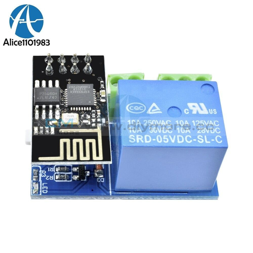 Esp 01 Esp8266 Dc 5V Wifi Relay Module Electronic Smart Kit Diy Board Home Phone Controller Remote
