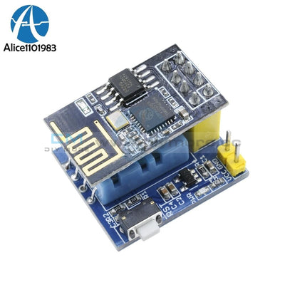 Esp8266 Esp 01 01S Dht11 Temperature Humidity Sensor Board Module Esp8266 Wifi Nodemcu Smart Home