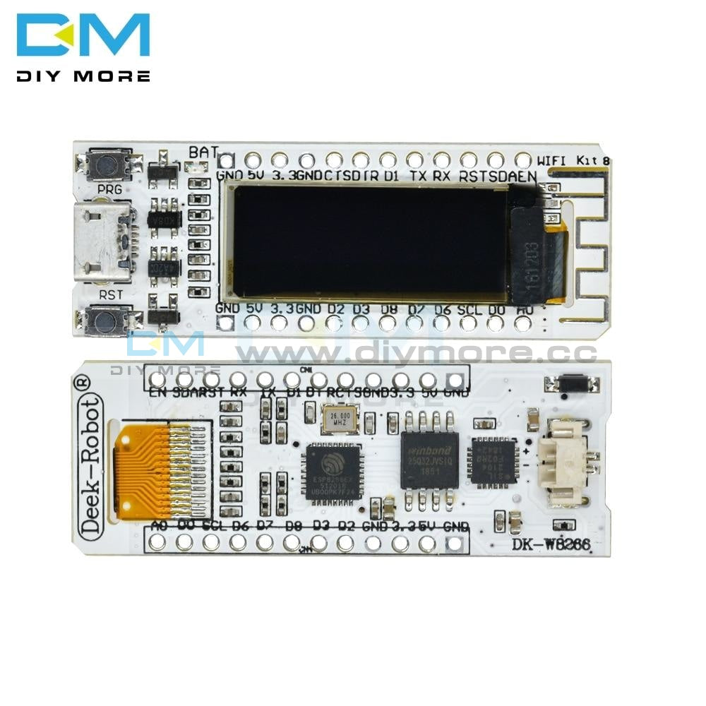 Esp8266 Wifi Development Board 32Mb Flash Internet Of Things Cp2014 Iot Digital Oled 0.91 Display