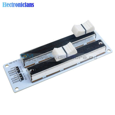Electronic Building Block 10K Double Row Sliding Linear Potentiometer Module For Arduino Mixer