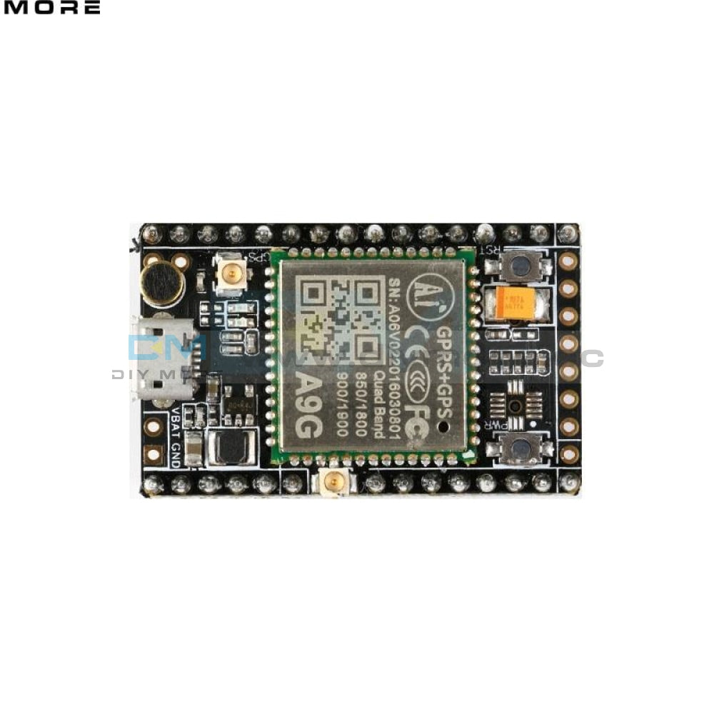 Gprs Gps A9G Core Board Module Pudding Development Sms Voice Wireless Data Transmission Iot With