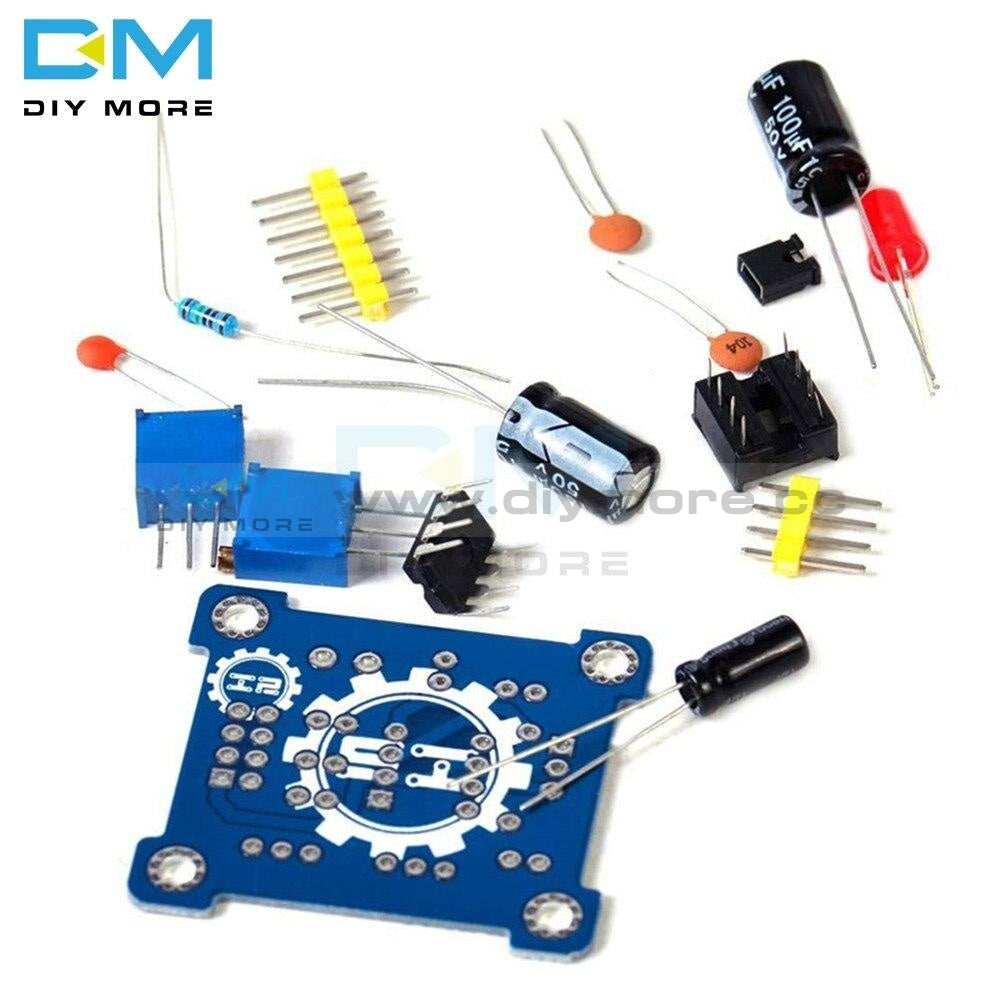 Adjustable Ne555 Pulse Frequency Module Duty Cycle Square Wave Signal Generator Diy Kit Board 5V-15V