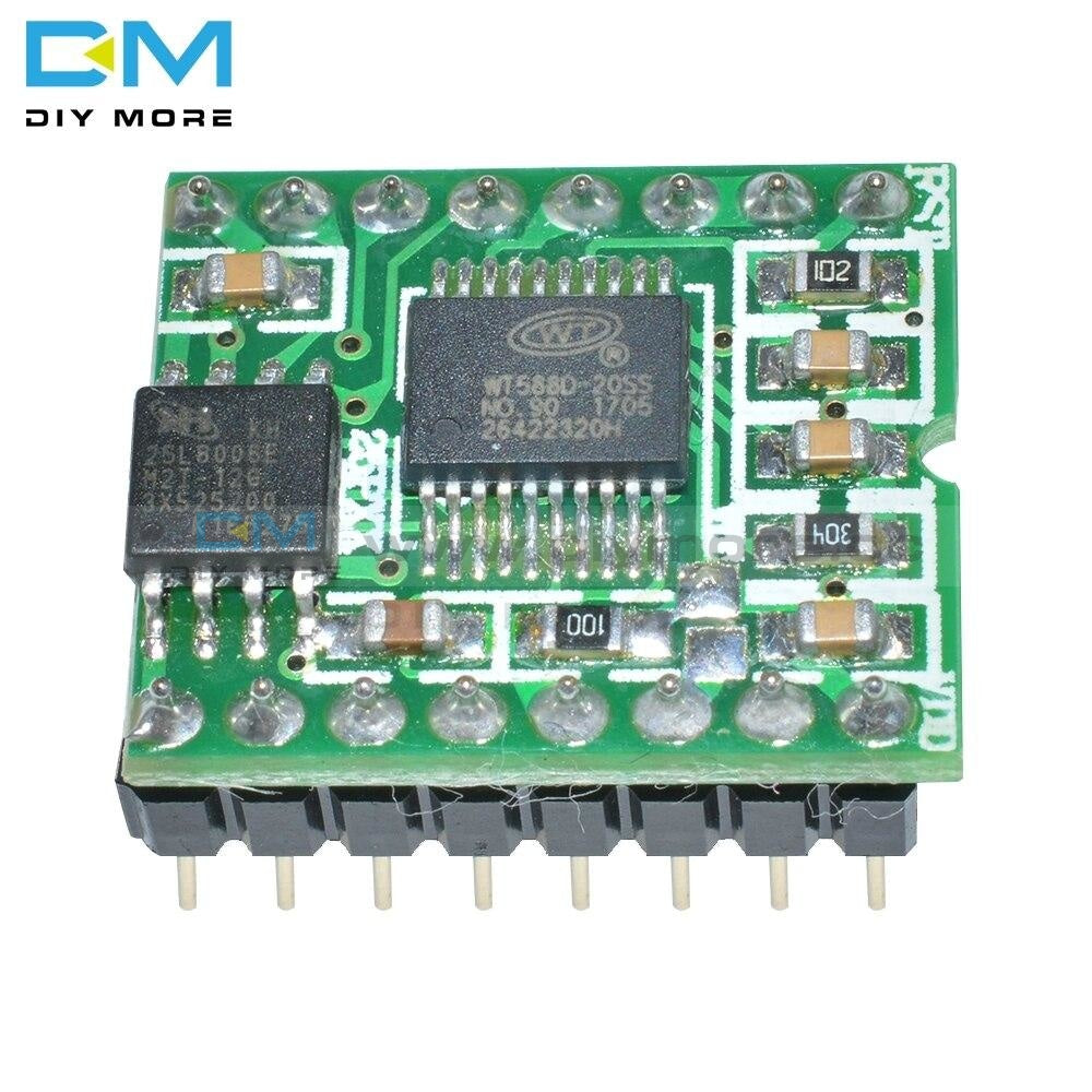 High-Quality Wt588D-16P Voice Module Sound Modue Audio Player Dc 2.8V-5.5V For Arduino For