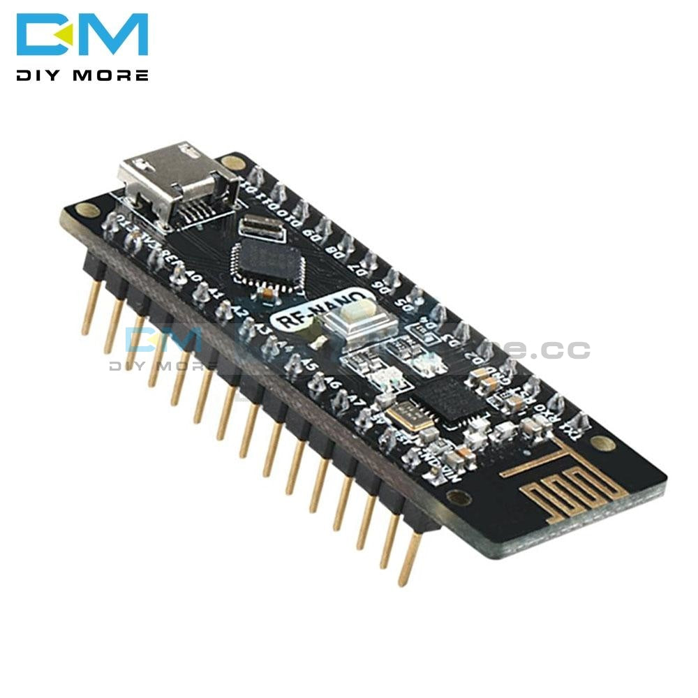 Nano V3.0 Ch340 Rf-Nano Micro Usb Board Atmega328P Qfn32 5V 16M Integrate Nrf24L01+2.4G Wireless For