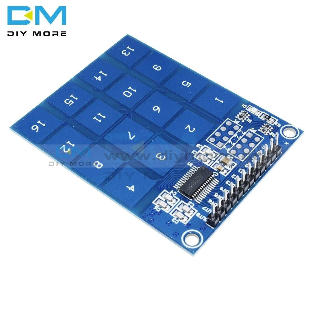 Ttp229 16 Channel Digital Capacitive Switch Touch Sensor Module For Arduino Diy Electronic Pcb Board