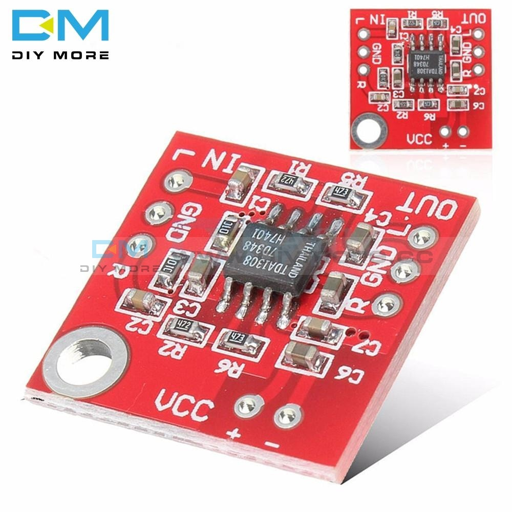 Stereo Tda1308 Headphone Amplifier Board Headset Amp Preamplifier Module 3V-6V Cmos Process For