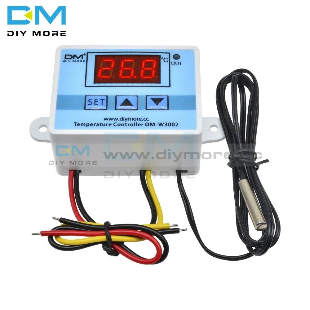 Xh-W3002 Digital W3002 Ac110-220V Led Temperature Controller Microcomputer Thermostat Switch Module