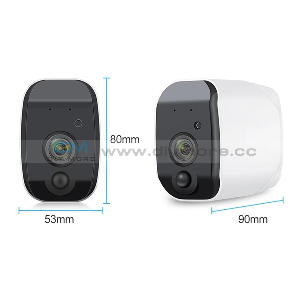 Hd 1080P Battery Camera Wifi Two Way Audio Support Lithium Wireless Ip Surveillance Waterproof