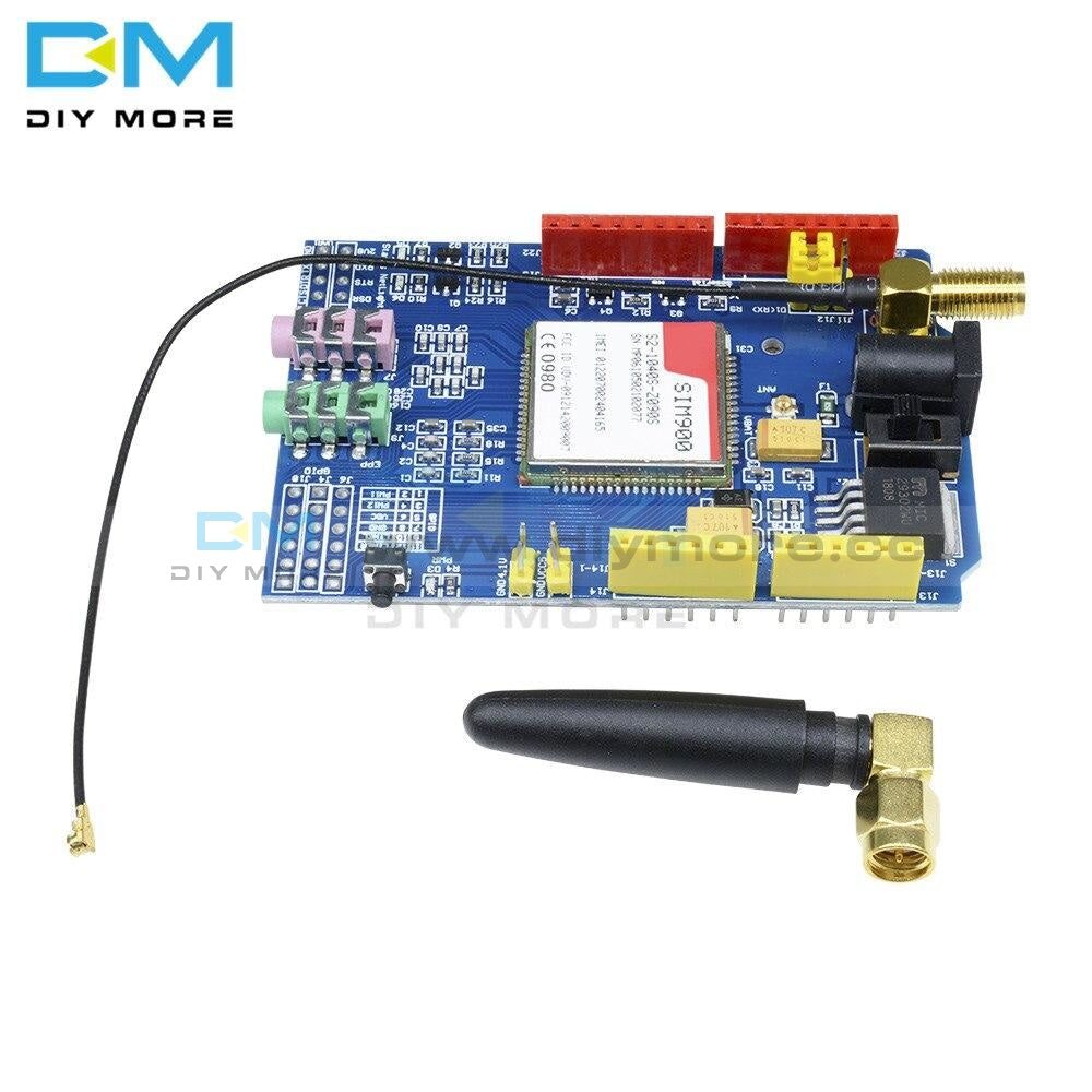 Sim900 850/900/1800/1900 Mhz Gprs/gsm Shield Development Compatible Board Module Kit For Arduino