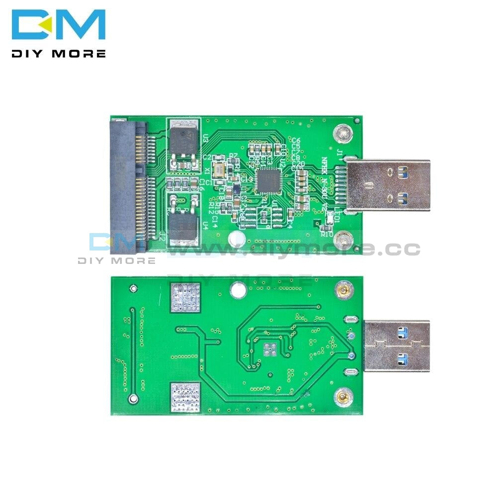 Data Transmission Link Adapter Usb3.0 To Msata Card Plug And Play Usb 3.0 Interface Sensor Module