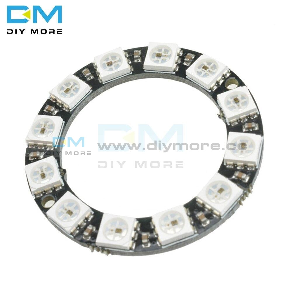 Rgb Led Ring 12 Bits Ws2812 Ws2812B 5050 Spot Integrated Driver Control Serial Module For Arduino