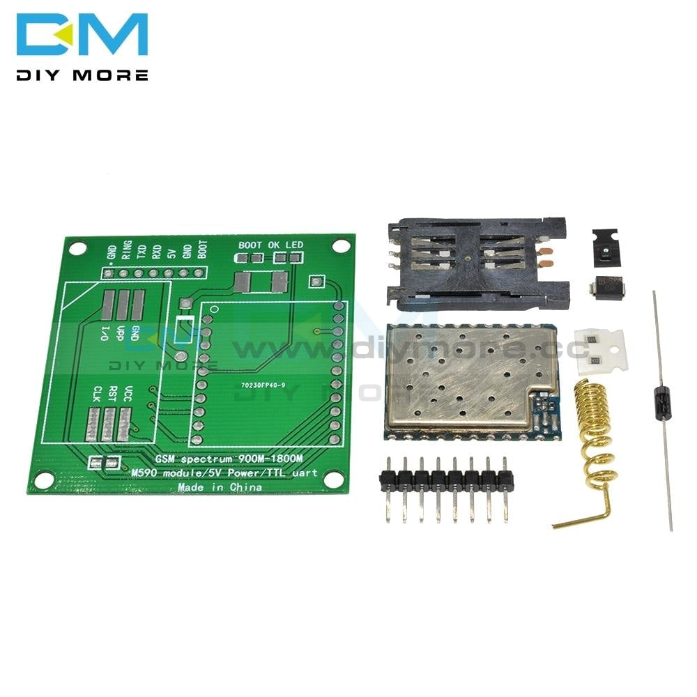 M590E Gsm Gprs Frequency Module Board Sms Message Diy Kits M590 Standard At Instruction Set Cpu Mcu