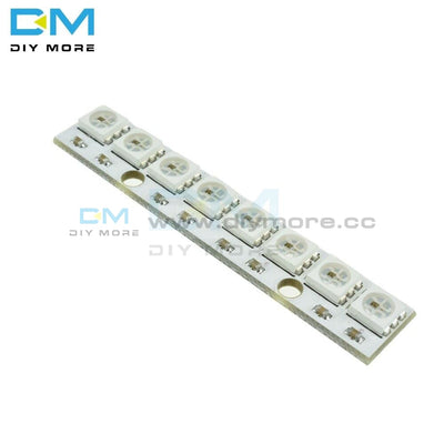 Ws2812 Ws 2811 5050 Rgb Led Lamp Panel Module 5V 8-Bit Rainbow Precise Board 8Mhz Avr For Arduino