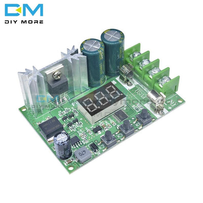 Dc 12-60V 10A 600W Motor Speed Controller Digital Display Red Pwm Regulator Module Pulse Width