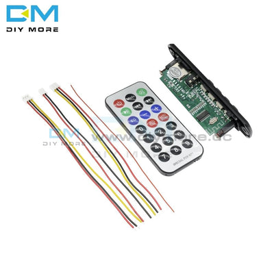 Ztv-M011Bt Third 12V 3.5Aux Car Bluetooth 4.1 Lossless Mp3 Sound Card Decoder Board Usb With Remote