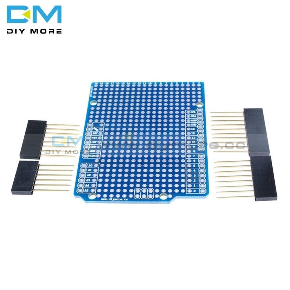 Prototype Pcb Board For Arduino Uno R3 Atmega328P Mega328 Shield Breadboard Protoshield Diy Fr-4