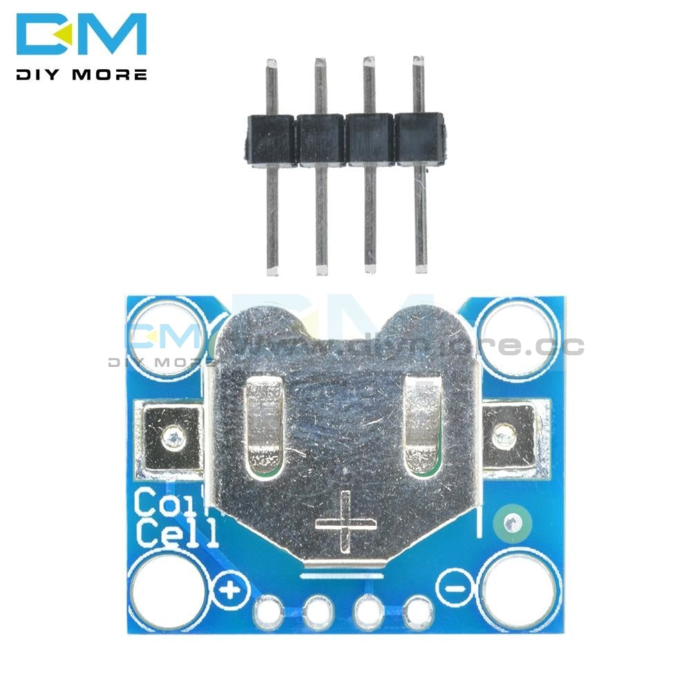 12Mm Coin Cell Breakout Board Cr1220 Button Battery Holder Mount For Low Current High Quality