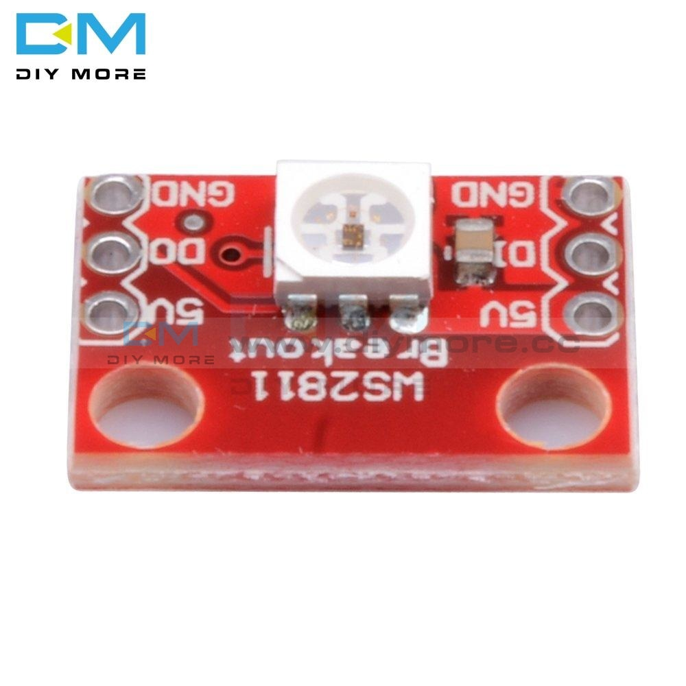 New Ws2812 Ws2811 Rgb Led Breakout Diy Kit Electronic Pcb Board Module For Arduino Function Diy