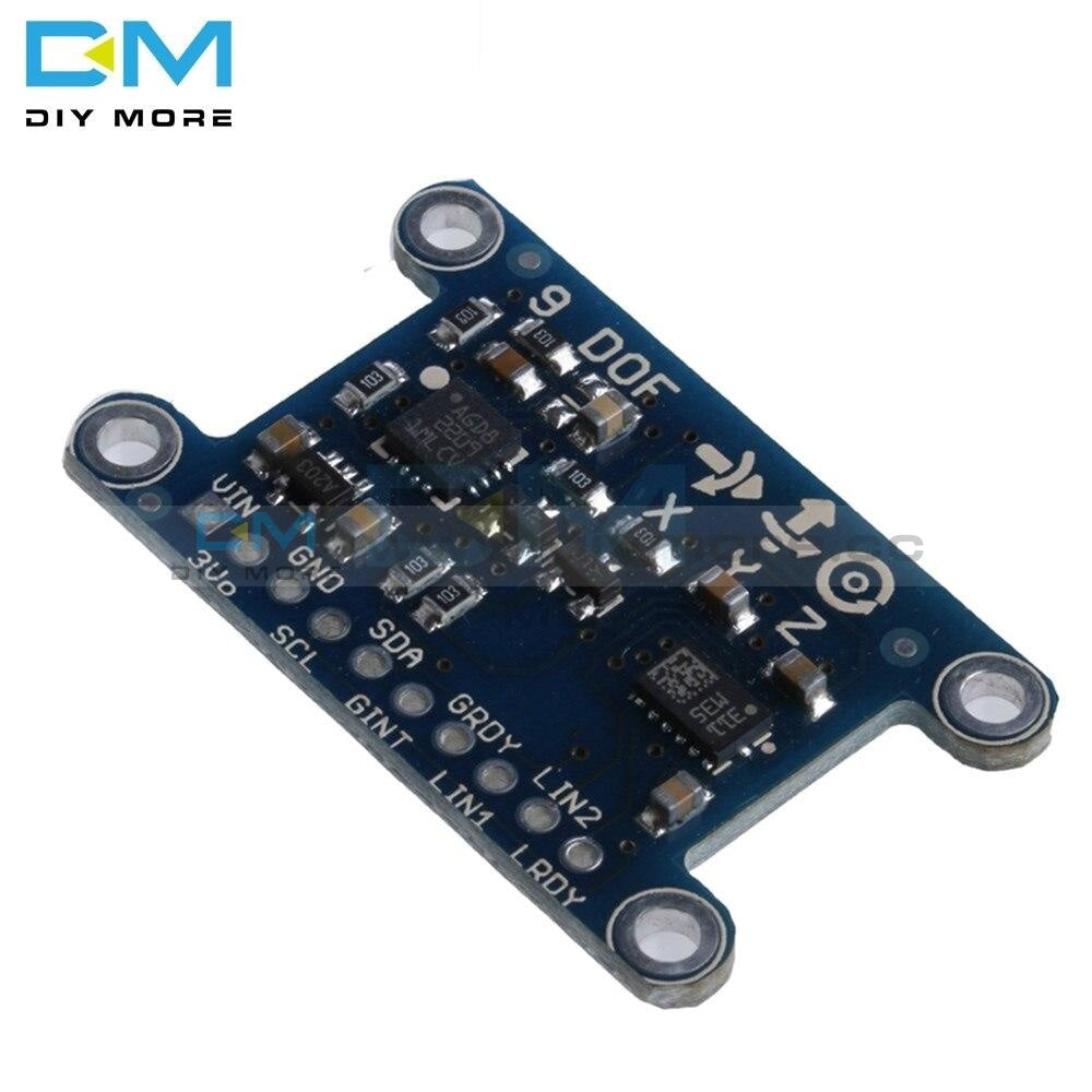 9 Axis Imu L3Gd20 Lsm303D Module 9Dof Compass Acceleration Digital Gyroscope Sensor For Arduino 3-5V