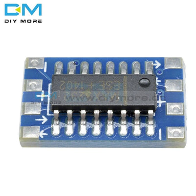 10Pcs Mini Max3232 Serial Port Rs232 To Ttl Converter Adaptor Adapter Board Max3232Cse Elcetrical