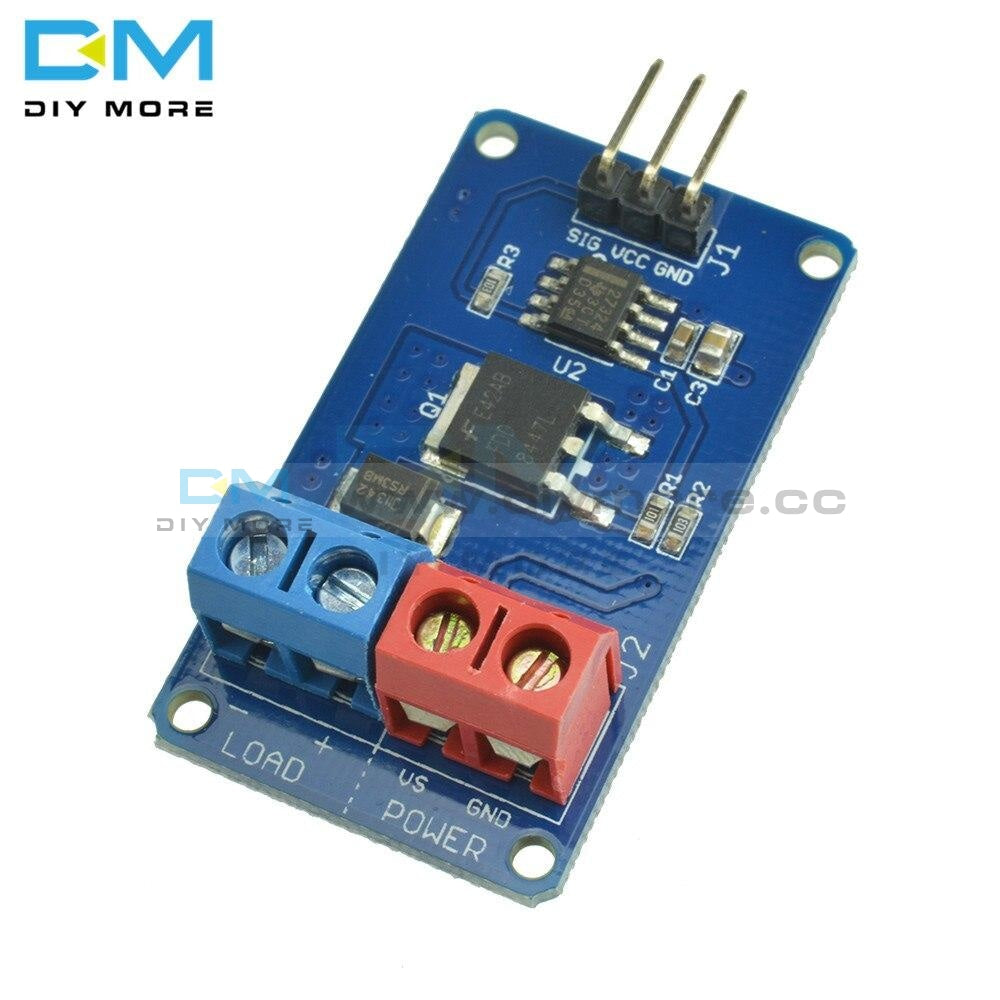 High-Current Mosfet Switch Module Dc Fan Motor Led Strip Driver Drive Steples Diy Electronic Kit Pcb