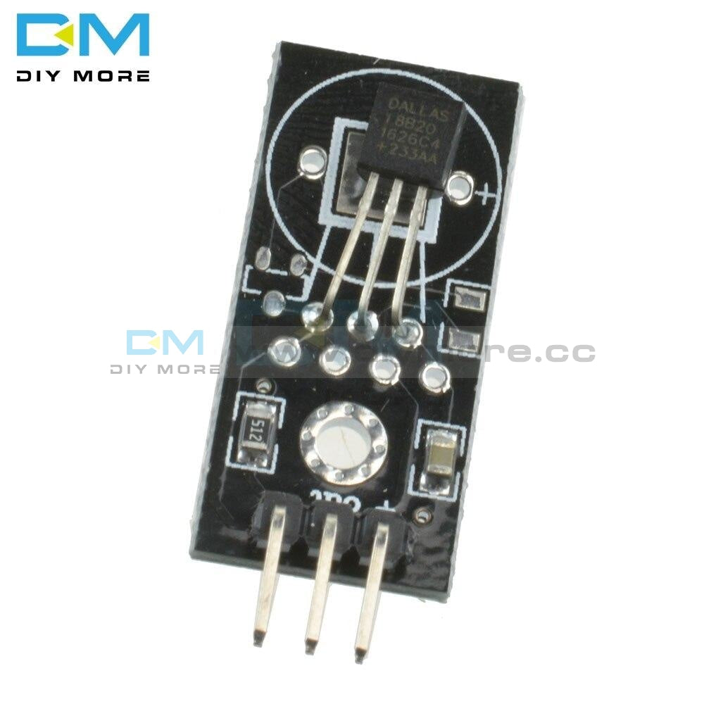 Dc 5V Digital Signal Ds18B20 Temperature Module Detection Sensor Board For Arduino High Efficiency