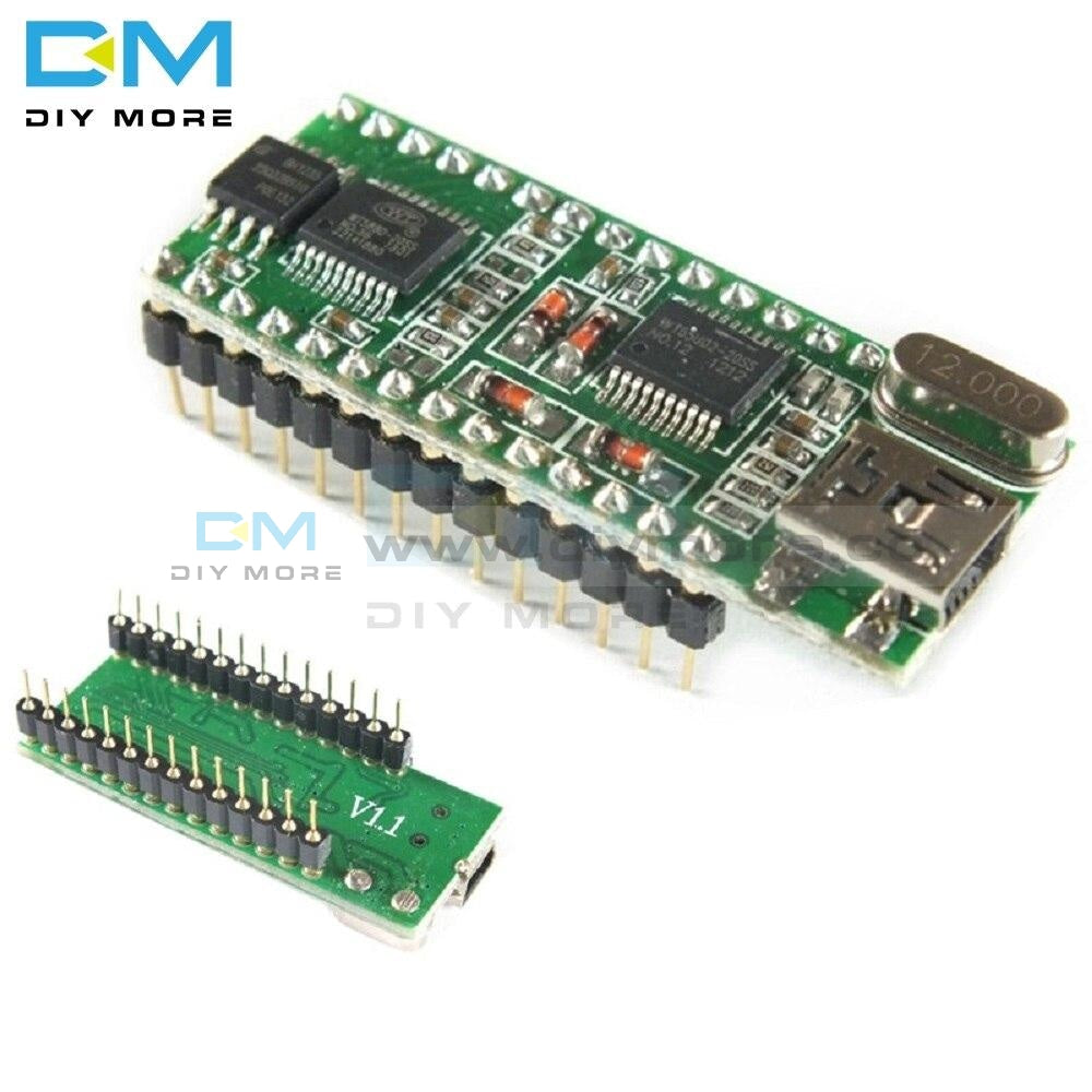 Wt588D-U Wt588D-U-32M Voice Control Board 5V Mini Usb Interface Sound Controller Module 32M Dc 2.8V
