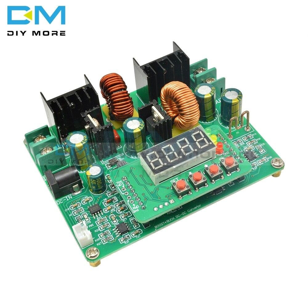 Dc-Dc Cc Cv 38V Digital Led Step Up Down Module Boost Buck Converter Solar Charging Diy Electronic