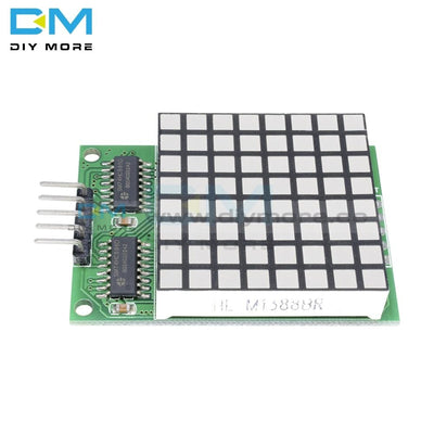 8X8 8*8 8 X Square Matrix Red Led Display Dot 74Hc595 Drive Driver Module For Arduino Uno Mega2560